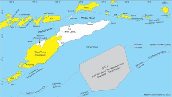 Batas wilayah Indonesia di bagian selatan