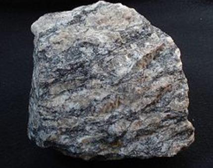 Contoh Batuan Metamorf batu ganes