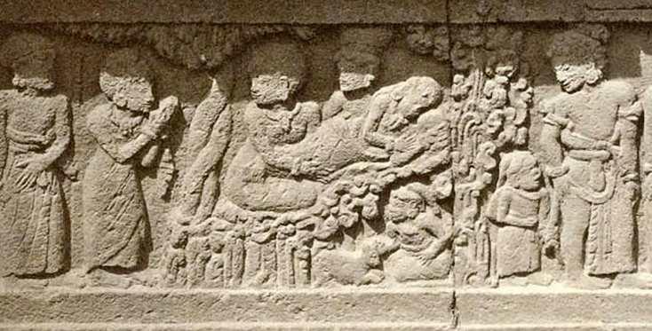 Contoh Seni Rupa Murni relief