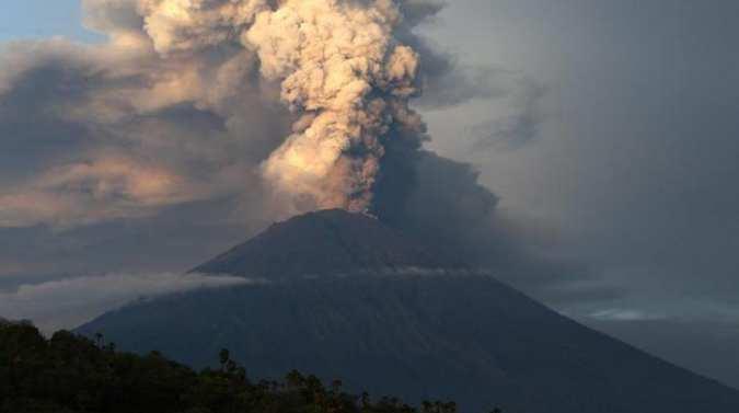Dampak negatif tenaga endogen erupsi gunung