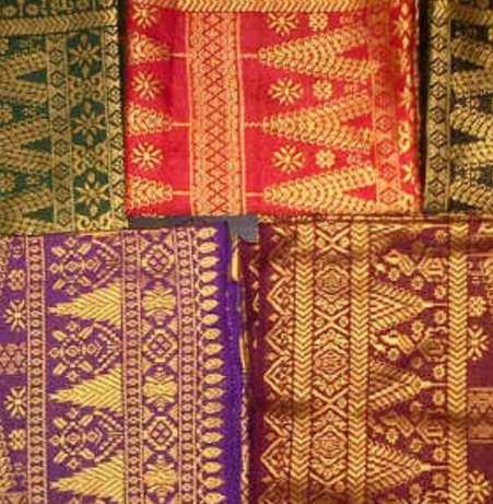 kain songket contoh seni rupa tradisional