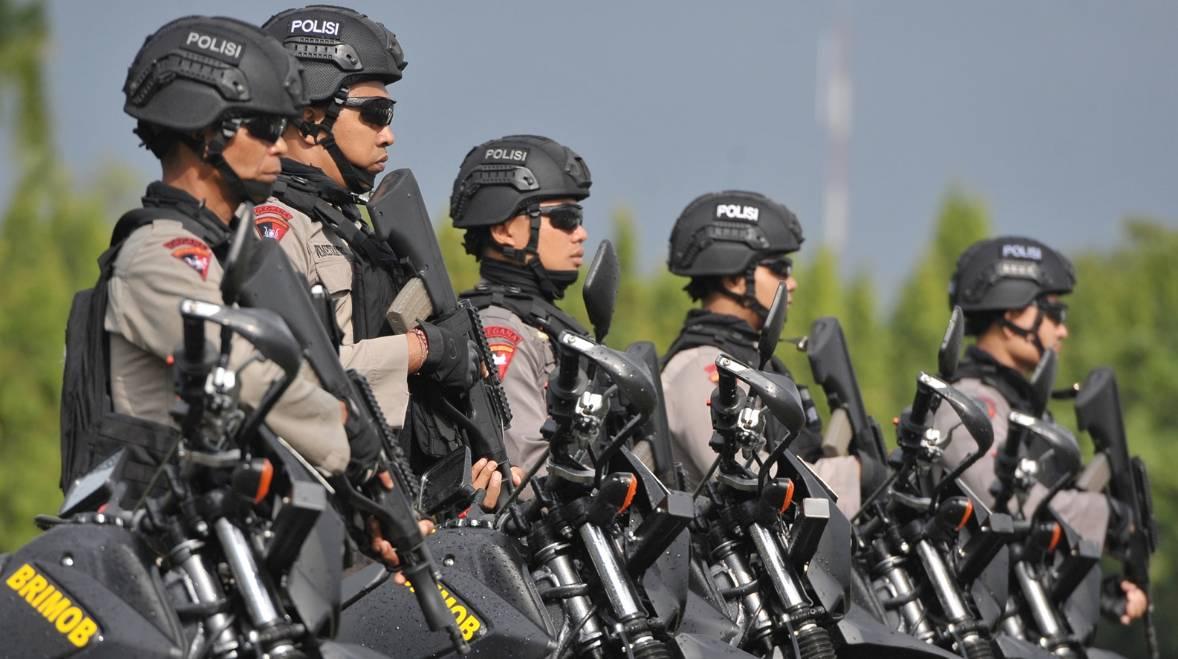 Lembaga penegak hukum Kepolisian Negara Republik Indonesia
