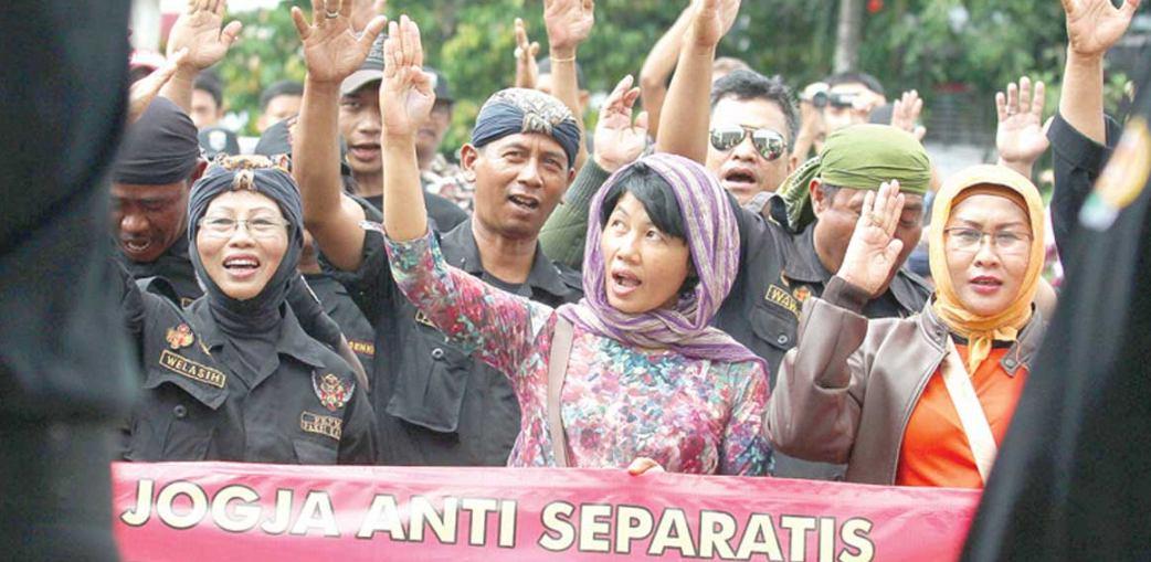 Menghilangkan sifat separatisme