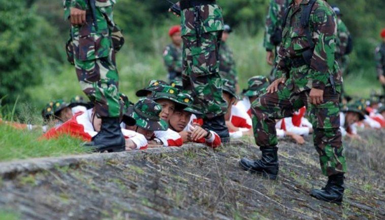bentuk usaha bela negara wajib militer
