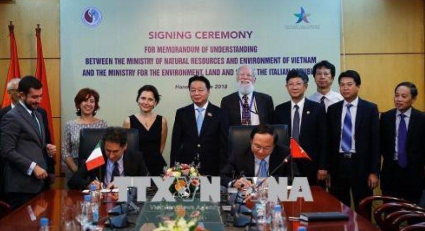Kerjasama Bilateral Italia dan Vietnam