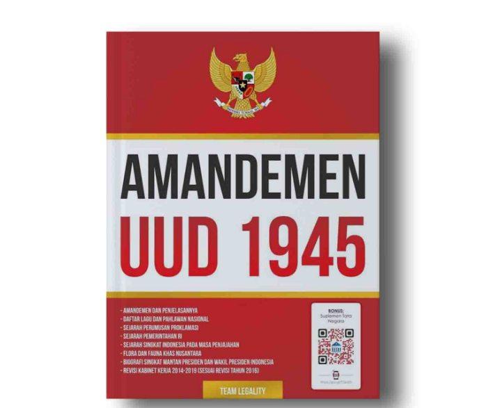 uud 1945 hasil amandemen